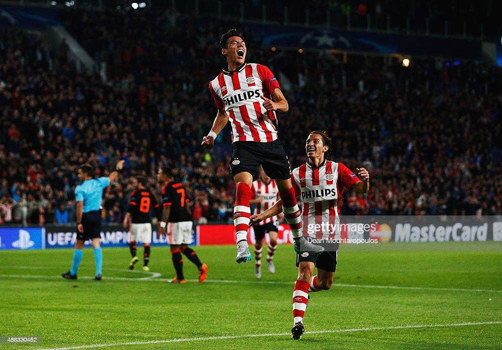 PSV Eindhoven v Manchester United FC - UEFA Champions League