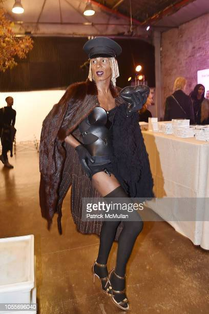 Hector Simone Xtravaganza attends the 2018 Aperture Gala at Cedar Lake on October 30 2018 in New York City