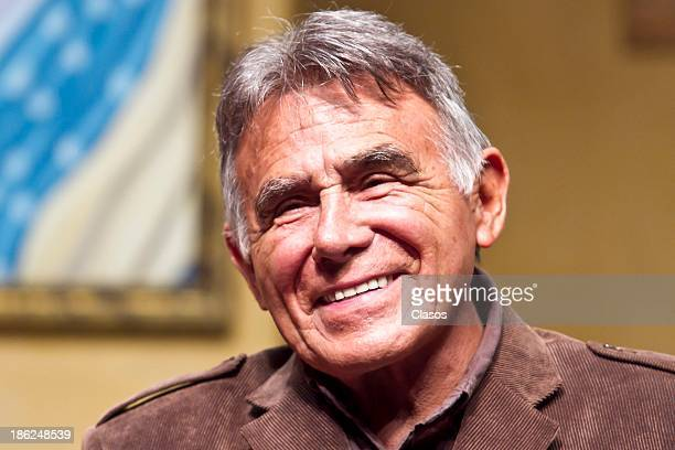 Hector Suarez during a press conference for the presentation of the theatre play Toc Toc at Fernando Soler Theatre on October 29 2013 in Mexico City...