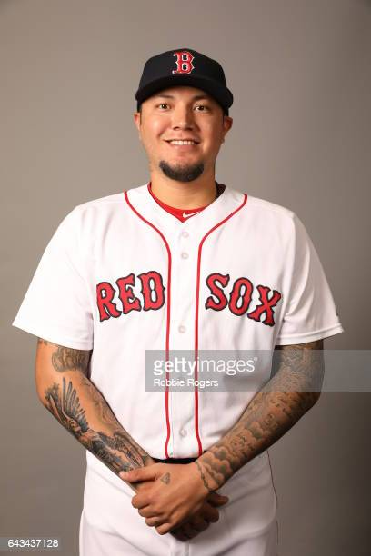 Hector Velazquez of the Boston Red Sox poses during Photo Day on Sunday February 19 2017 at JetBlue Park in Fort Myers Florida