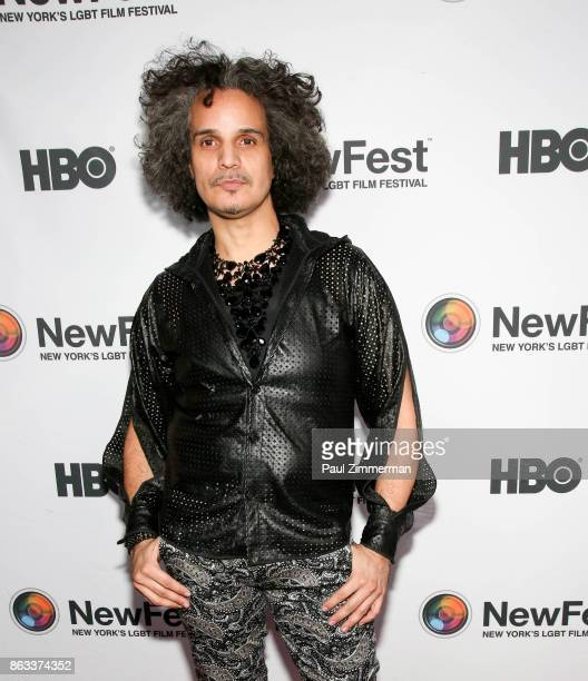 Hector xtravaganza attends NewFest 2017 Opening Night Susanne Bartsch On Top at SVA Theater on October 19 2017 in New York City