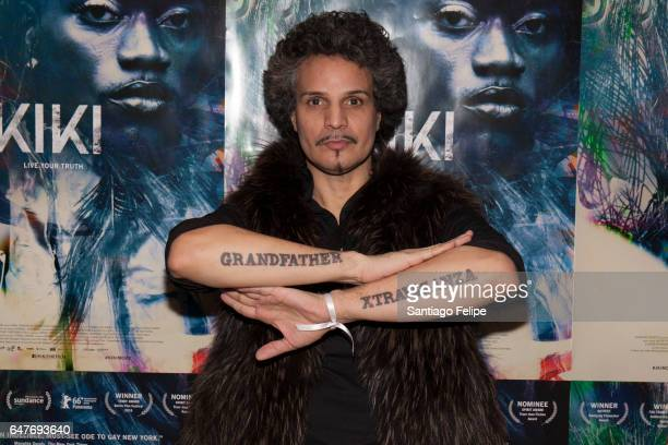 Hector Xtravaganza attends NYC Movement Ball Celebrating Kiki at Neuehouse on March 3 2017 in New York City