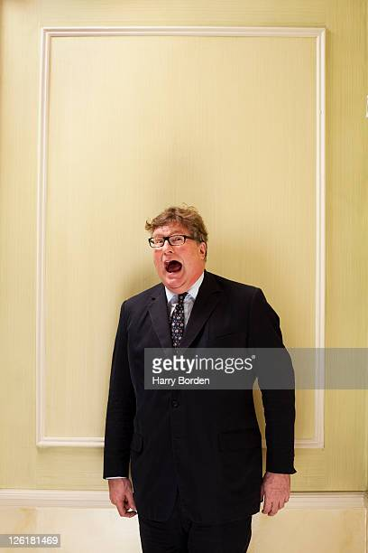 Hedge fund manager Crispin Odey is photographed for Management Today on January 26 2011 in London England