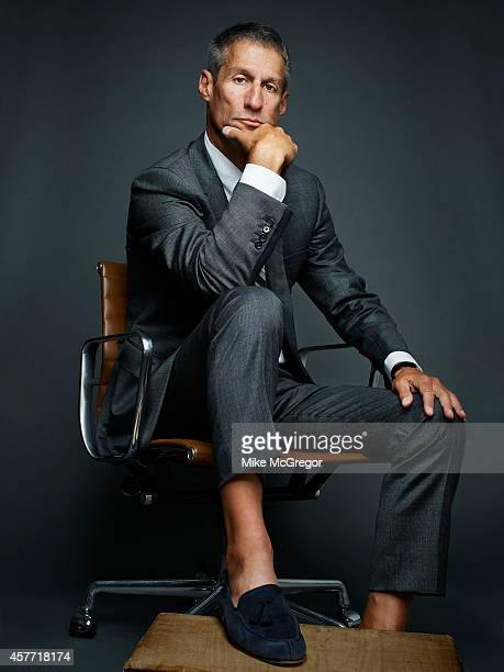 Hedgefund manager Richard C Perry is photographed for Institutional Investor Magazine on July 22 2014 in New York City PUBLISHED IMAGE