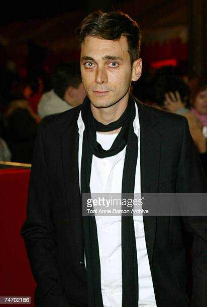 Hedi Slimane at the Grand Rex in Paris France