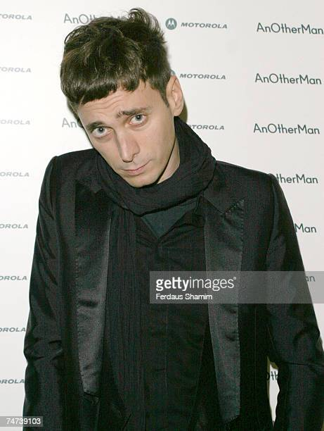 Hedi Slimane at the Portman Square London in Portman Square London United Kingdom