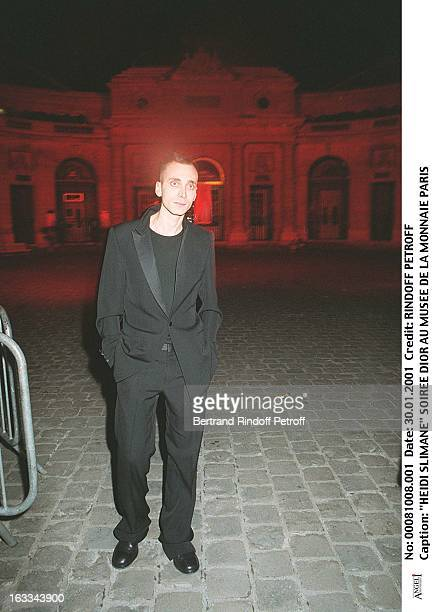 Hedi Slimane at theDior Gala Evening At The Musee De La Monnaie In Paris