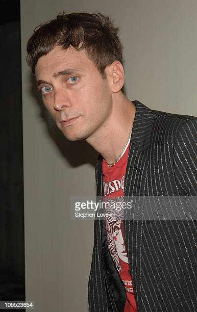 Hedi Slimane during Gus Van Zant's Last Days New York City Premiere at The Sunshine Theatre in New York City New York United States