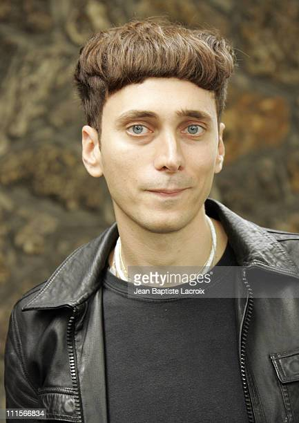 Hedi Slimane during Paris Haute Couture Fashion Week Fall/Winter 2005 Chanel Arrivals in Paris France
