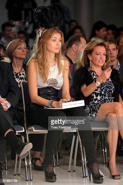 HEDrGulnara Karimova Chairwoman of the Board of Trustees Fund Forum and CarolineGruozi ScheufeleVice President Of Chopard during the Underground...