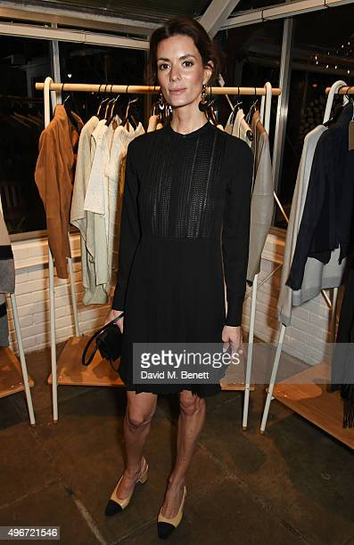 Hedvig Opshaug attends a candlelit dinner for VINCE at Clifton Nurseries on November 11 2015 in London England