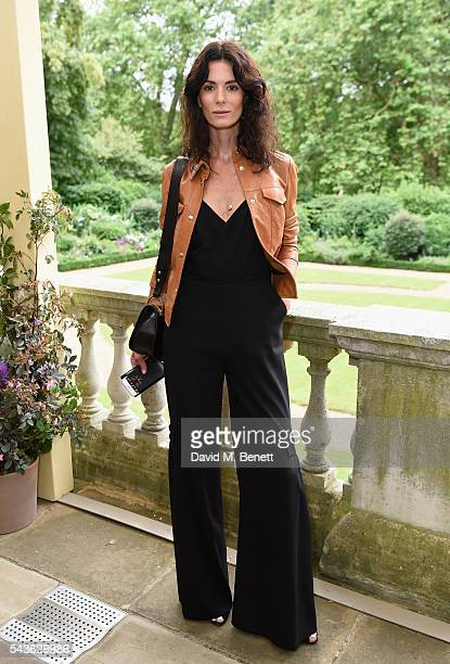 Hedvig Opshaug attends the Creatures of the Wind Resort 2017 collection and runway show presented by Farfetch at Spencer House on June 29 2016 in...
