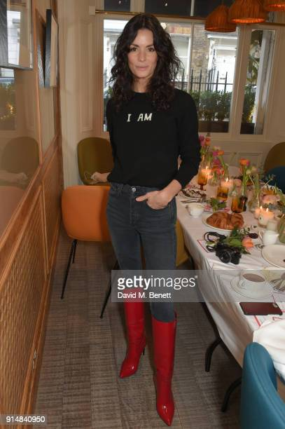 Hedvig Sagfjord Opshaug attends a VIP breakfast hosted by Arizona Muse celebrating the launch of Chinti Parker's collaboration with Women for Women...