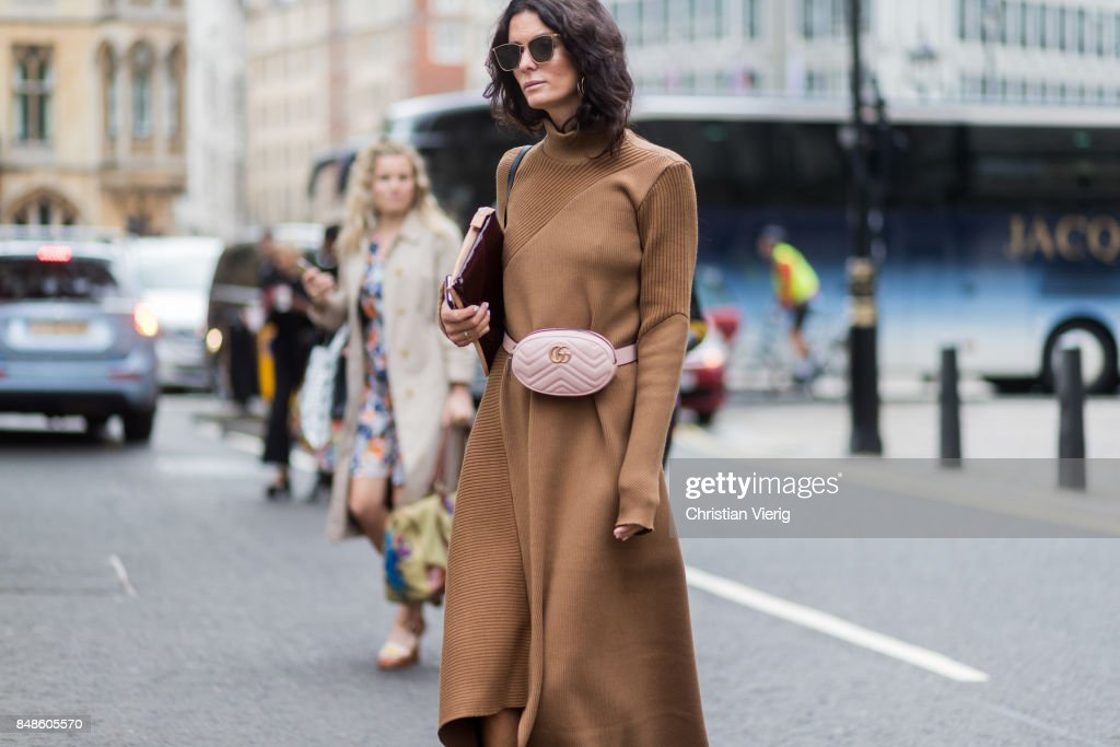 Street Style: Day 3 - LFW September 2017 : Photo d'actualité