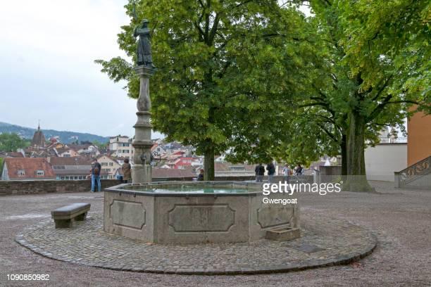 Hedwig Fountain in Zurich