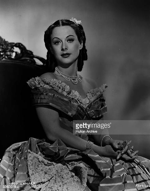 Hedy Lamarr as Lisa Roselle from the film 'Copper Canyon' directed by John Farrow and produced by Paramount Pictures Corporation