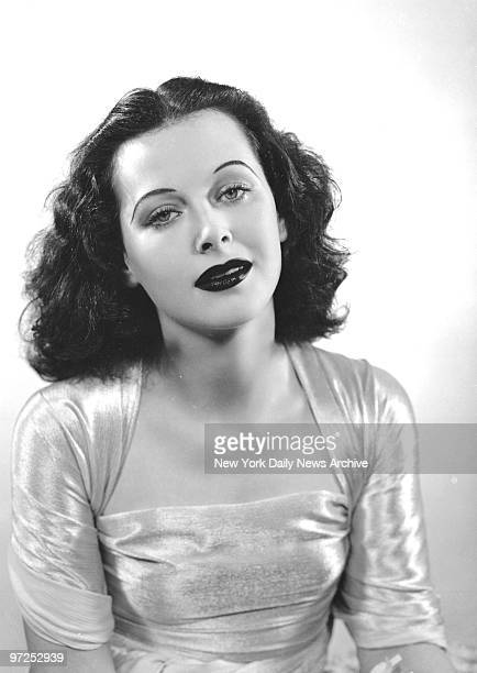 Hedy Lamarr at The News Color Studio