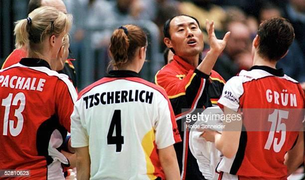 Hee Wan LEE mit Hanka PACHALE, Kerstin TZSCHERLICH, Angelina GRUEN/GER