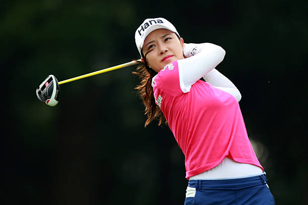 Hee Young Park of South Korea in action during day three of the Sime Darby LPGA at TPC Kuala Lumpur on October 29 2016 in Kuala Lumpur Malaysia