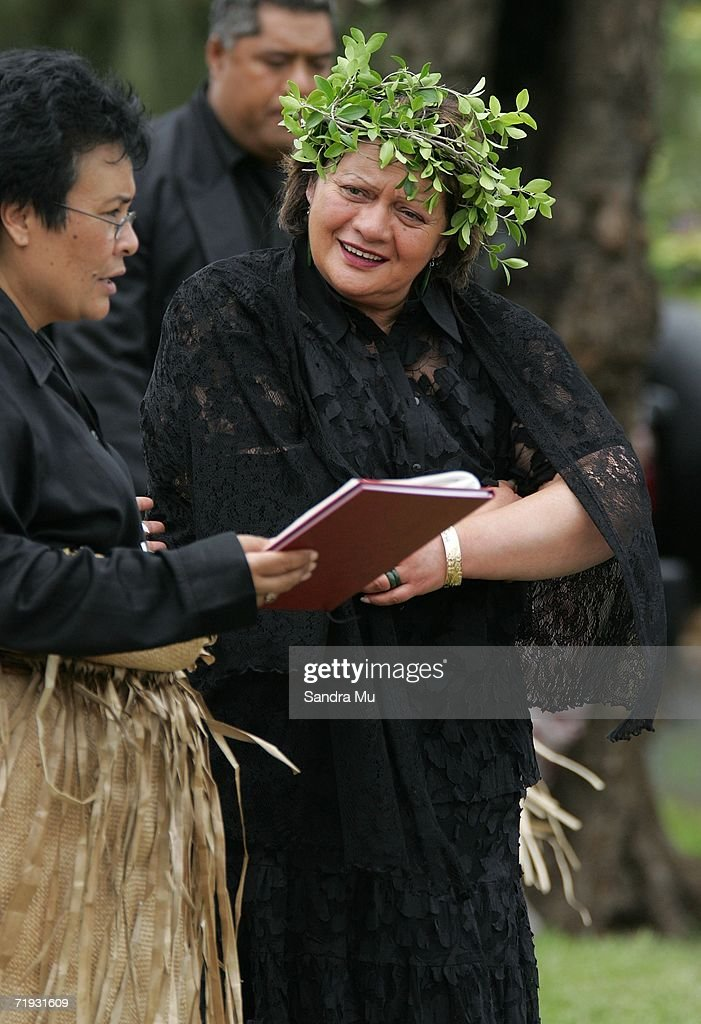 Heeni Katipa, sister of the Maori King Tuheitia Paki arrives at the State Funeral for King Taufa'ahau Tupou IV of Tonga at his chiefly burial ground on September 19, 2006 in Nuku'alofa, Tonga. King Taufa'ahau Tupou IV died on September 10, 2006 after a long illness. He was 88 and had been ruler of Tonga since the death of his mother in 1965. Crown Prince Tupouto'a has taken over the king's duties.