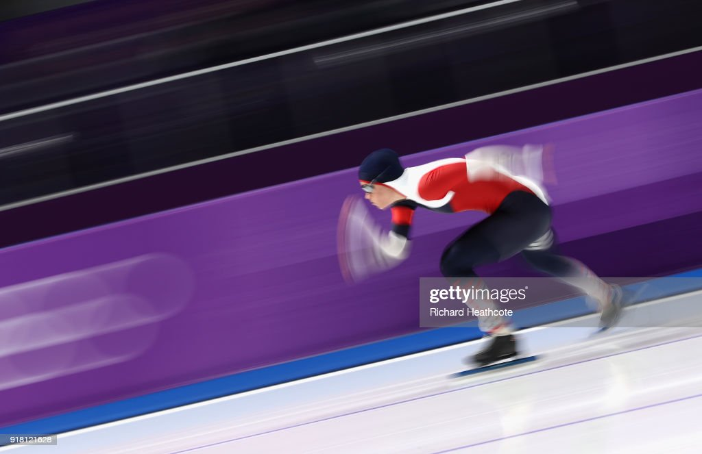 Hege Bokko of Norway competes during the Ladies' 1000m Speed Skating on day five of the PyeongChang 2018 Winter Olympics at Gangneung Oval on February 14, 2018 in Gangneung, South Korea.