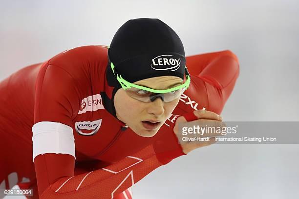 Hege Bokko of Norway competes in the Division A Ladies 1000 meter during ISU World Cup Speed Skating Day 3 on December 11 2016 in Heerenveen...