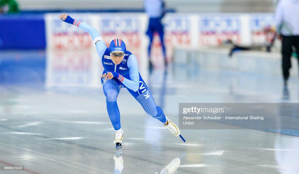 ISU World Cup Speed Skating Final - Minsk