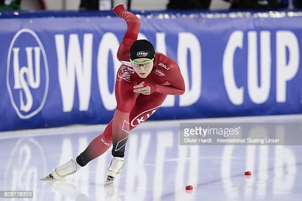 Hege Bokko of Norway competes in the Ladies 500m during ISU World Cup Speed Skating Day 1 on December 9 2016 in Heerenveen Netherlands