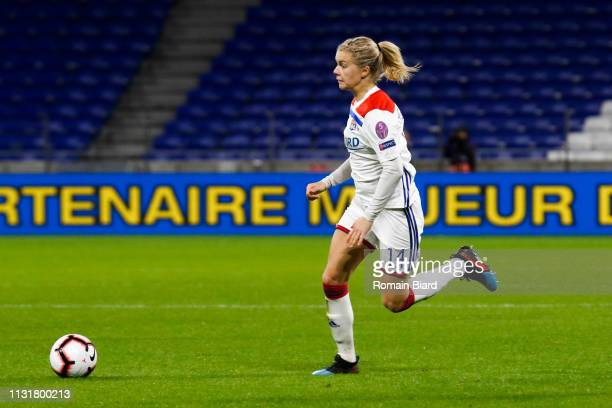 Hegerberg Ada of Lyon during the Women's Champions League match between Lyon and Wolfsburg on March 20 2019 in Lyon France