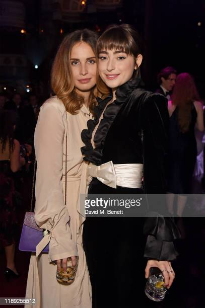 Heida Reed and Ellise Chappell attends the after party of the 65th Evening Standard Theatre Awards In Association With Michael Kors at London...