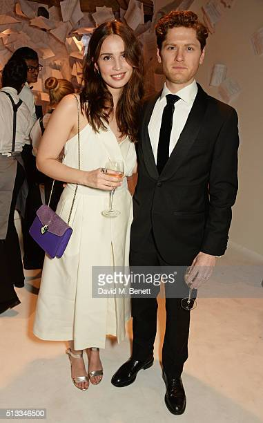 Heida Reed and Kyle Soller attend the Bright Young Things Gala 2016 a Young Patrons of the National Theatre event in support of emerging talent at...