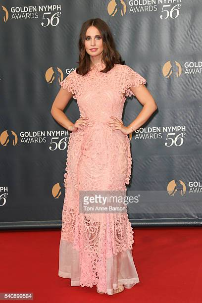 Heida Reed arrives at the 56th Monte Carlo TV Festival Closing Ceremony and Golden Nymph Awards at The Grimaldi Forum on June 16 2016 in MonteCarlo...