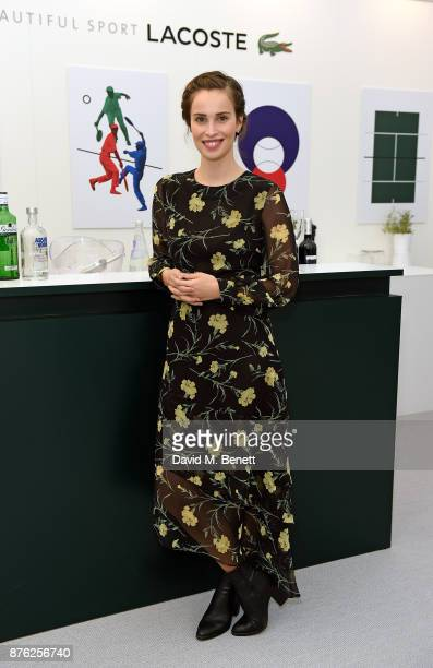 Heida Reed attends Lacoste VIP Lounge at the 2017 ATP World Tour Tennis Finals on November 19 2017 in London United Kingdom