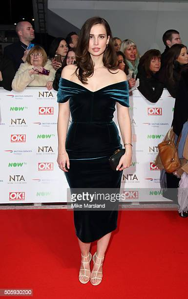 Heida Reed attends the 21st National Television Awards at The O2 Arena on January 20 2016 in London England