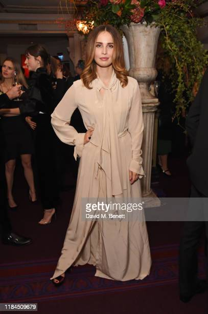 Heida Reed attends the 65th Evening Standard Theatre Awards in association with Michael Kors at the London Coliseum on November 24 2019 in London...