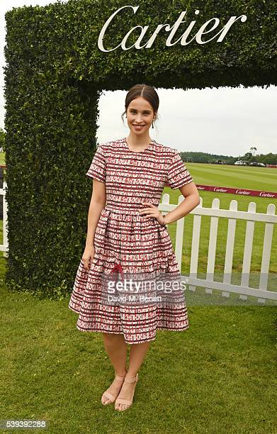 Heida Reed attends The Cartier Queen's Cup Final at Guards Polo Club on June 11 2016 in Egham England