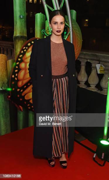 Heida Reed attends the Cirque du Soleil Premiere Of TOTEM at Royal Albert Hall on January 16 2019 in London England