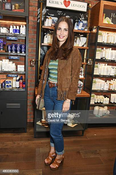 Heida Reed attends the Kiehl's Pioneers By Nature Party at the Kiehl's Regent Street Store on July 9 2015 in London England