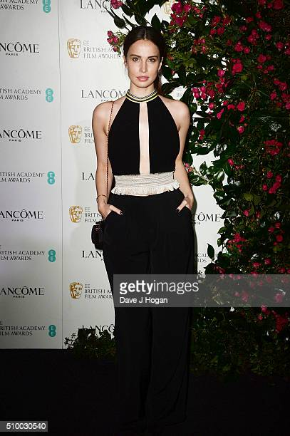 Heida Reed attends the Lancome BAFTA nominees party at Kensington Palace on February 13 2016 in London England
