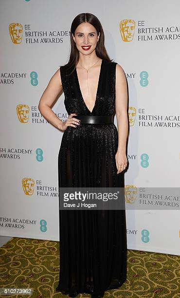 Heida Reed attends the official After Party Dinner for the EE British Academy Film Awards at The Grosvenor House Hotel on February 14 2016 in London...
