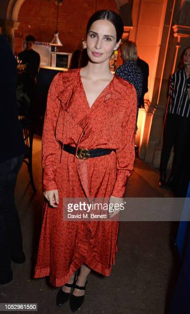 Heida Reed attends the unveiling of Johnnie Walker Blue Label Ghost and Rare Port Ellen at The Welsh Chapel on October 24 2018 in London England