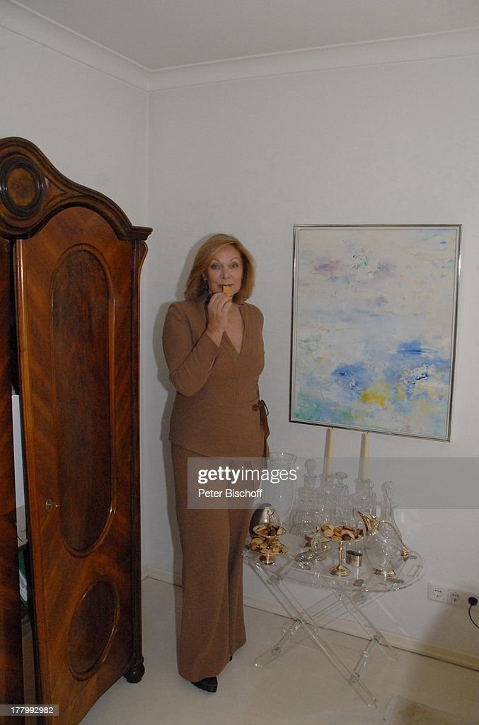 Heide Keller, Homestory, Bad Godesberg / Bonn, Nordrhein-Westfal ...