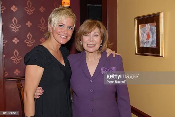 Heide Keller Inka Bause Party zum 70 Geburtstag von Heide Keller neben den Dreharbeiten zur ZDFReihe 'Traumschiff' Folge 62 'Indian Summer'...