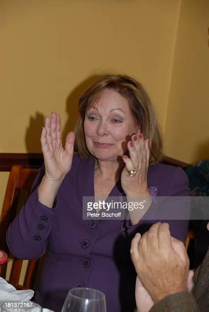 Heide Keller Party zum 70 Geburtstag von Heide Keller neben den Dreharbeiten zur ZDFReihe 'Traumschiff' Folge 62 'Indian Summer' Restaurant 'Mc Kays'...