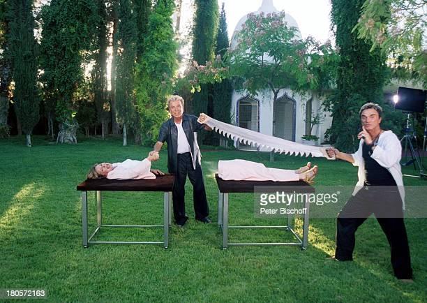 Heide Keller Siegfried Roy ZDF Traumschiff Folge 40 Las Vegas Homestory Dschungel Palast Las Vegas/Nevada/USA Garten Zauber Zauberei Zaubertrick...