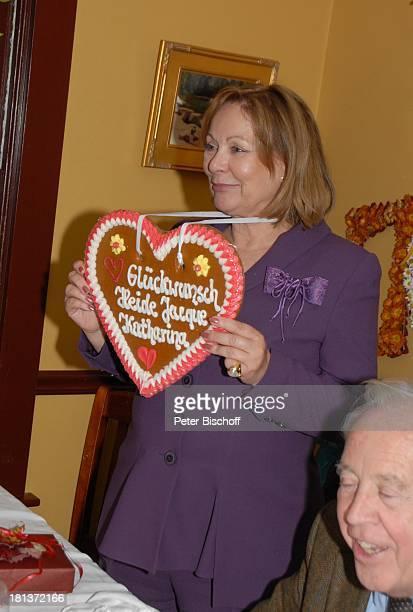Heide Keller Wolfgang Rademann Party zum 70 Geburtstag von Heide Keller neben den Dreharbeiten zur ZDFReihe 'Traumschiff' Folge 62 'Indian Summer'...