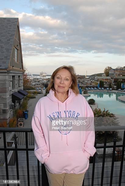 Heide Keller ZDFReihe Traumschiff Folge 62 Indian Summer Hotel Marina Harborside Bar Harbor Insel Mount Desert Maine USA Nordamerika New...
