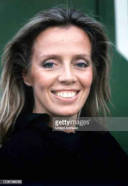 Heide Mahler deutsche Volksschauspielerin und Hörspielsprecherin Deutschland um 1990