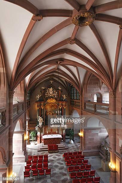 Heidelberg Castle Friedrich building interior view church castle chapel