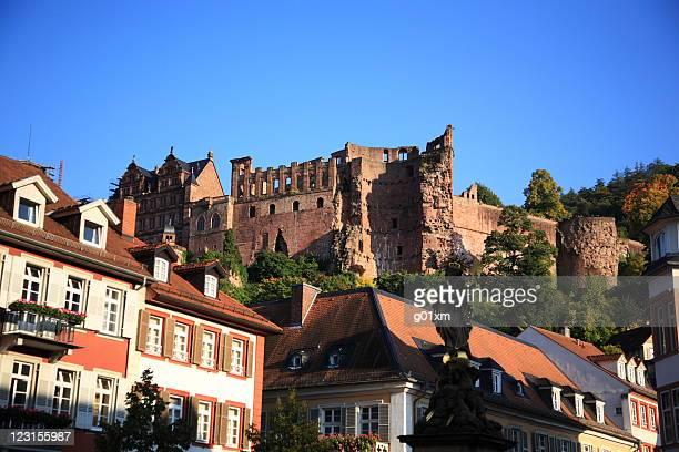 heidelberg castle - heidelberg stock photos and pictures